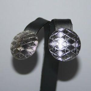 Beautiful silver vintage earrings